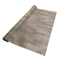 Simili trải sàn vân gỗ màu xám nhạt mẫu mới - bề mặt có vân nhám như gỗ thật