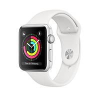 Đồng Hồ Thông Minh Apple Watch Series 3 GPS Aluminum Case With Sport Band 38mm - Hàng Nhập Khẩu
