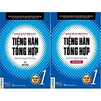 Sách Trọn Bộ 2 Cuốn Tiếng Hàn Tổng Hợp Dành Cho Người Việt  Sơ Cấp 1 ( Giáo Trình Và Sách Bài Tập )  Bản In 2 Màu ( tặng kèm bút Galaxy )