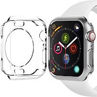 Case ốp bảo vệ silicon dẻo cho Apple Watch 42mm (chống va đập trầy xước, chống bụi, bảo vệ viền)