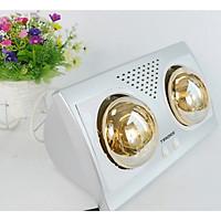 Đèn sưởi nhà tắm 2 bóng Tiross TS9291 - Hàng chính  hãng (Model 2021)