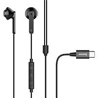 Tai nghejack Type-C hiệuBaseus Encok Wire Earphone C06 âm thanh Hi-Fi chất lượng cao cho điện thoại máy tính bảng - Hàng nhập khẩu
