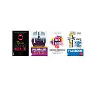 Combo 4 cuốn sách phát triển kỹ năng làm việc ( thôi miên ngôn từ  + cách gia tăng 1 triệu flower + bán hàng quảng cáo facebook +bí quyết chiến thắng trong mọi cuộc đàm phán ) DL