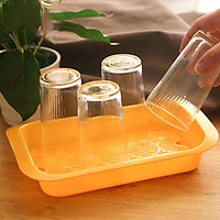 Khay nhựa cao cấp úp cốc an toàn cho sức khỏe - Hàng Nội Địa Nhật