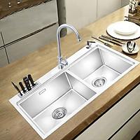 Bồn rửa chén RANOX 6mm  vòi rửa chén cổ điển. RN4003