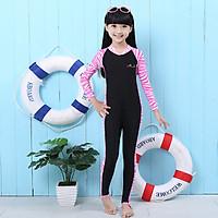 Bộ bơi Sbart liền dài tới gót hồng đen cho bé từ 2-14 tuổi