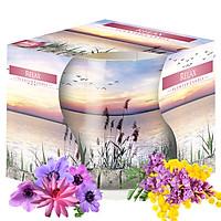 Ly nến thơm tinh dầu Bispol Relax 100g QT04317 - hương cây lau