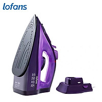 Lofans Cordless Steam Iron 2000W w/3-Level Steam Control/Anti-Drip/360° Swivel Cord/Self Clean/Stepless Temperature