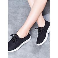 Giày độn thể thao nữ buộc dây full size full box size chuẩn kèm ảnh thật size 35 đến 39 V127