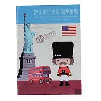 Sổ ghi chú nhỏ Postal card
