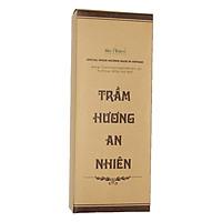 Nhang trầm hương không chất tạo mùi hộp lớn siêu tiết kiệm 30cm-800 cây- chân tăm trắng