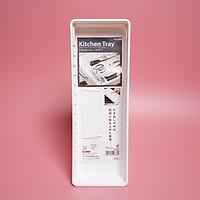 Khay chia ngăn kéo loại rộng màu trắng Nhật Bản