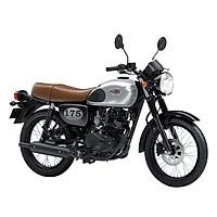 Xe Moto Kawasaki W175 SE - Bạc