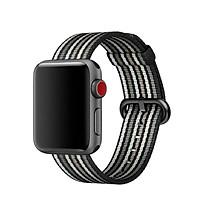 Dây đeo Apple Watch - Nylon Coteetci - Sọc nhiều màu