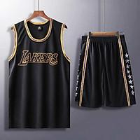 Bộ quần áo thi đấu bóng rổ Los Angeles Lakers - Set đồ bóng rổ - Bộ đồ bóng rổ