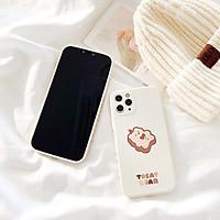 Ốp Lưng iPhone Cạnh Vuông Tosat Bear Dành Cho iPhone 6 / 6 Plus / 7 / 7 Plus / 8 / 8 Plus / X / Xs / Xs Max / 11 / 11 Pro / 11 Pro Max / 12 / 12 Pro / 12 Pro Max