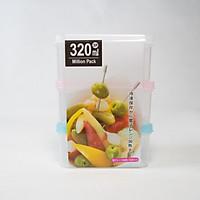 Bộ 3 hộp nhựa đựng thực phẩm 320ml