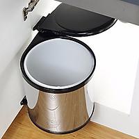 Thùng đựng rác gắn cánh cửa bếp HR01(Lắp được cho cánh tủ trái và cánh tủ phải)