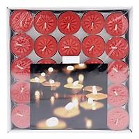 Hộp 100 Nến Tealight Bông Mai Nycandle FtraMart Candle (Đỏ)