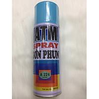 Sơn Xịt ATM Spray A224 Xanh da trời , màu đẹp , sang trọng, bền màu