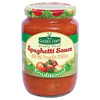 Xốt Spaghetti - Truyền Thống Golden Farm (820g)