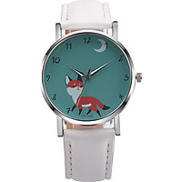 Wristwatches Casual Watch Decorative Fox Pattern 3 Colors Pointer Decoration Watches Students
