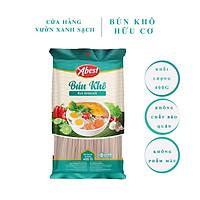 Bún khô ABEST gói 400G /Bún tươi Hữu cơ/Không phụ gia thực phẩm/không chất bảo quản