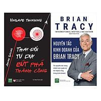 Combo Thay Đổi Tư Duy Bức Phá Thành Công + Nguyên Tắc Kinh Doanh Của Brian Tracy ( 2 Cuốn )