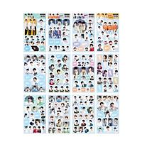 Set 12 ảnh dán đẹp nhóm idol TFBoys Dịch Dương Thiên Tỷ Vương Nguyên Vương Tuấn Khải