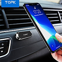 Giá nam châm gắn trên ô tô TOPK D24 cho iPhone 12 Pro HUAWEI P40 Xiaomi OPPO Vivo - INTL - Hàng chính hãng