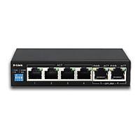 Bộ chia mạng D-Link DES F1006P 6 cổng - Hàng Chính Hãng