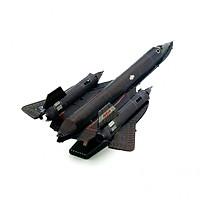 Mô hình thép 3D tự ráp máy bay Blackbird SR71 màu