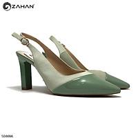 Sandal kín mũi, hở gót 9 cm SD8696