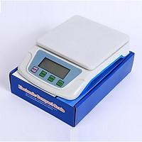 Cân điện tử nhà bếp đa năng màn hình hiển thị LCD ,sai số không đáng kể  Ts-200 ( Tải trọng 1kg, 2kg, 3kg, 6kg, 10kg , 6 đơn vị cân, có chức năng trừ bì- Tặng kèm pin )