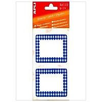 APLI_Sticker Viền Xanh Dương 52x78_339