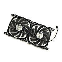 2pcs/set Inno GTX1070TI/1070 GPU VGA Card Cooler Cooling Fan Replacement For GEFORCE GTX 1070 GTX1070 TI X2 V2 Graphics