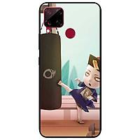 Ốp lưng dành cho Realme C15 mẫu Cương Thi Đá