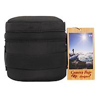 Túi Đựng Lens Camera Bags Designer LENS-20 (Đen) - Hàng Chính Hãng