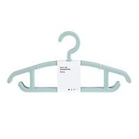 Combo 5 móc treo quần áo đa năng Miniso (Xanh bạc hà) - Hàng chính hãng