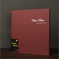 Album ảnh dính bìa da lộn cao cấp 27x29cm