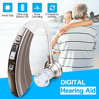 Digital Hearing Aid BTE Behind The Ear Sound Voice Amplifier Assitance Noise Cancelling Severe Loss