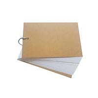 Sổ Vẽ Màu Nước Marker Touchliit 50 tờ định lượng 250 gsm khổ A6/A5/A4 Gắn Khoen Tháo lắp dễ dàng