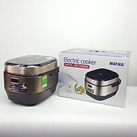 Nồi cơm điện tử Matika Electric Cooker MTK-RC1886 - Hàng chính hãng