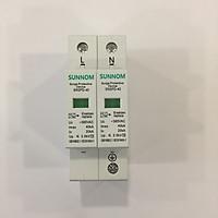 CB thiết bị chống sét lan truyền AC hai chiều bảo vệ mạch bảo vệ quang điện GIVASOLAR SUNNOM AC 385V 2P 4P