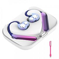 Tai Nghe Không Dây Headphone Bluetooth 5.0 Aipao X6 TWS- IP67 Cao Cấp +Tặng Led USB (Giao màu ngẫu nhiên) - Hàng nhập khẩu