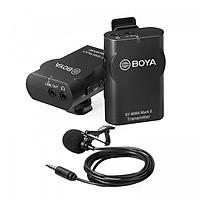 Boya BY-WM4 Mark II - Micro không dây cho điện thoại, máy ảnh - Hàng Chính Hãng