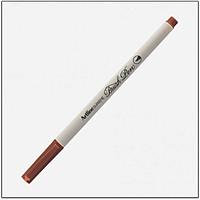 Bút lông đầu cọ viết calligraphy Artline Supreme Brush EPFS-F - Màu nâu (Brown)