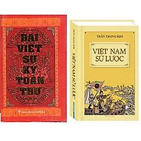 Combo Đại Việt Sử Ký Toàn Thư+Việt Nam Sử Lược (Bìa Cứng)