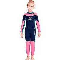 Đồ bơi bé gái full body chất liệu cao su giữ nhiệt Neoprene 2.5mm
