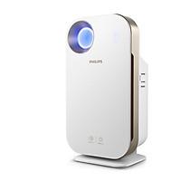 Máy lọc không khí kháng khuẩn trong nhà nhãn hiệu Philips AC4558 Cảm ứng thông minh 4 màu, giám sát và kiểm soát với ứng dụng điện thoại thông minh, loại bỏ vi rút, vi khuẩn - HÀNG NHẬP KHẨU